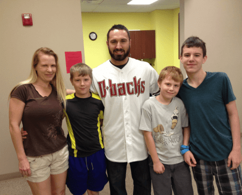 d-backs at hospital