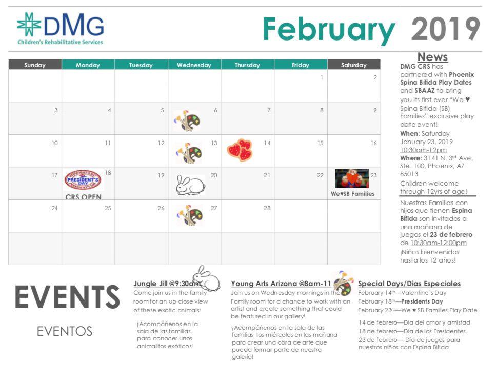 La Events Calendar February 2019 Events Calendar   February 2019